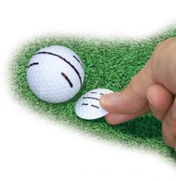 Spel golf spel marker