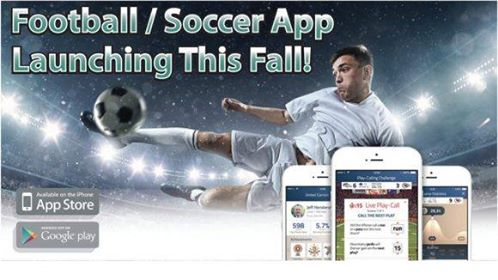 football-soccer app launching this fall