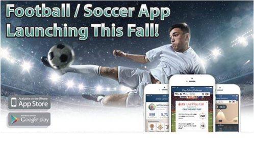 football-soccer app launching this fall