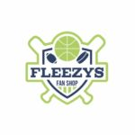 Fleezys white logo