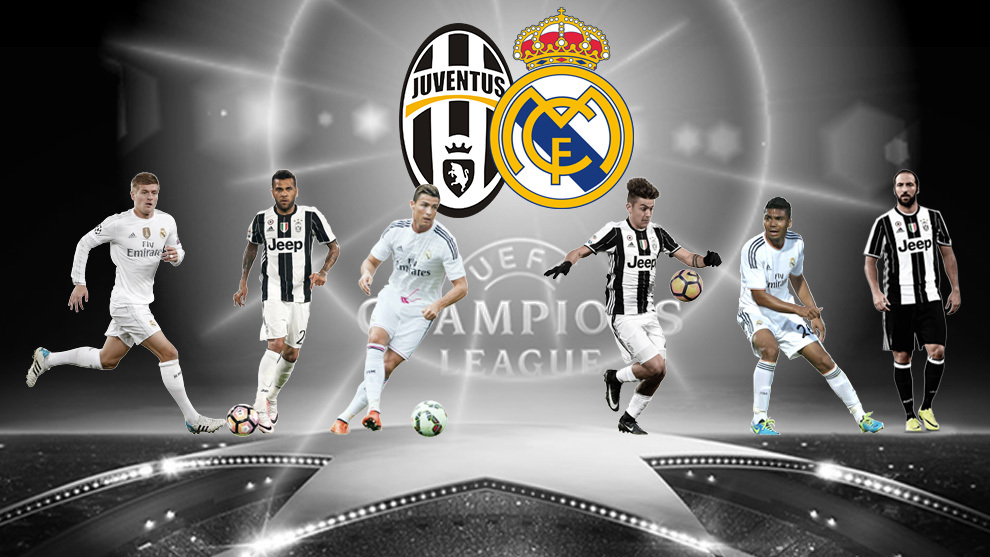 Real Madrid vs. Juventus in the 2016-17 Champions League ...