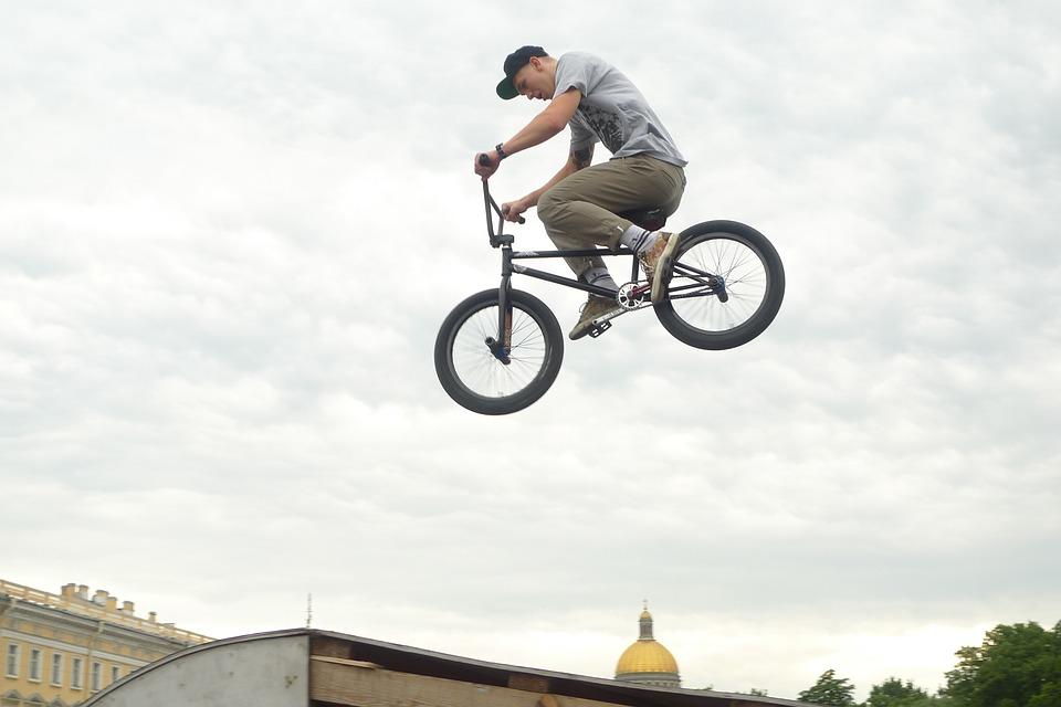 bmx racing jump