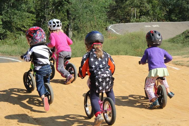 bmx racing young girls