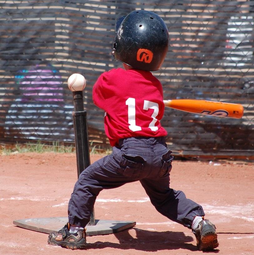 ideal height of baseball batting tee