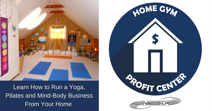 home office set-up for yoga coaches
