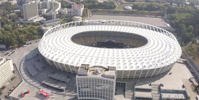 NSC Olimpiyskiy Stadium, Kiev